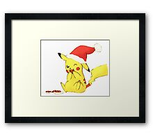 pikachu cookies, christmas Framed Print