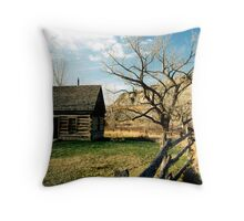 Little House on the Praire Throw Pillow