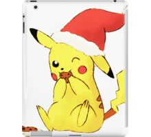 pikachu cookies, christmas iPad Case/Skin