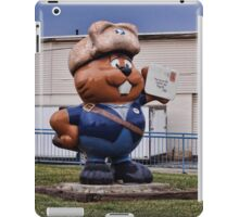 Remember the mail carrier iPad Case/Skin