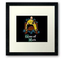 Game of Meth Framed Print