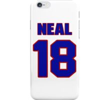 National Hockey player James Neal jersey 18 iPhone Case/Skin