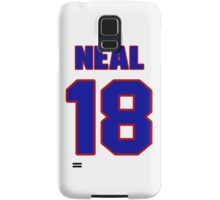 National Hockey player James Neal jersey 18 Samsung Galaxy Case/Skin