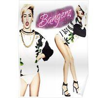 Miley Cyrus Bangerz Poster Poster