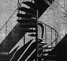 Spiral Staircase  by Ralph B. Chance