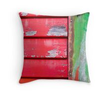 meeting of colours Throw Pillow