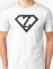 Z letter in Superman style Unisex T-Shirt