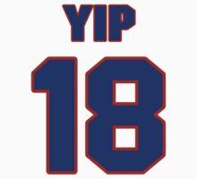 National Hockey player Brandon Yip jersey 18 by imsport