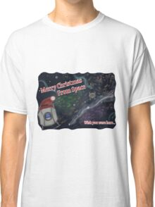 Merry SPACEmas... so much space  Classic T-Shirt
