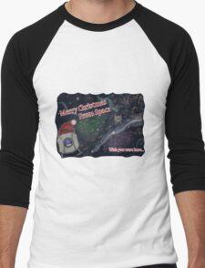 Merry SPACEmas... so much space  Men's Baseball ¾ T-Shirt