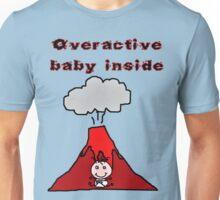 OVERACTIVE BABY INSIDE Unisex T-Shirt