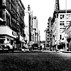 Downtown Providence 1972  by Ralph  Chance