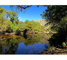 Lake Sabino Photographic Print