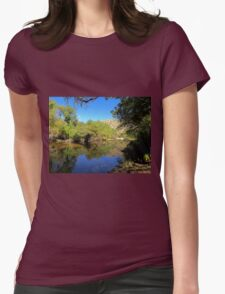 Lake Sabino Womens Fitted T-Shirt