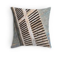 aged shutters Throw Pillow