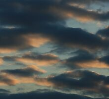Suset with clouds by sommershots