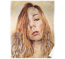 Soft Texas Sun, Jessica Portrait, by James Patrick Poster