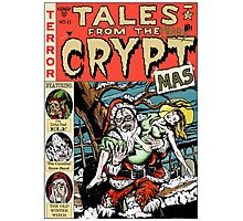 Merry Christmas / Tales From the Cryptmas Photographic Print