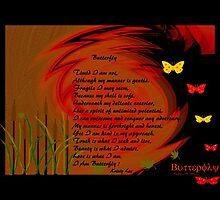 Butterfly by Madeline M  Allen