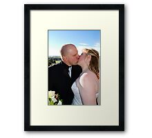 Adrian and Zoe Terrace Framed Print