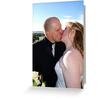 Adrian and Zoe Terrace Greeting Card
