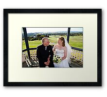 Adrian and Zoe Terrace 2 Framed Print