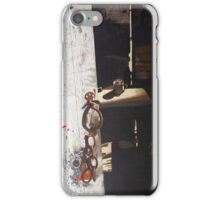 Silence at the Table iPhone Case/Skin