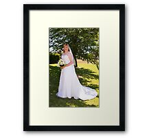 Adrian and Zoe Terrace 13 Framed Print