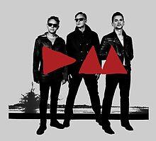 Depeche Mode : 2013 Groupe Poster by Luc Lambert