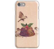 Christmas Pudding Raid  iPhone Case/Skin