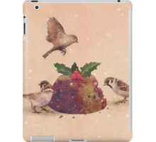 Christmas Pudding Raid  iPad Case/Skin