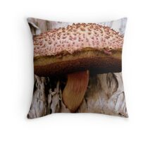 THE CONVENIENCE OF PAPER BARK TREES  Throw Pillow