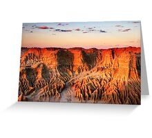 Mungo National Park Greeting Card