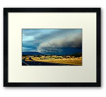 Under Siege Framed Print