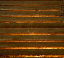 Golden Slats by Geoffrey Elliott