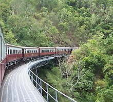 Kuranda Railway Bridge by glennmp