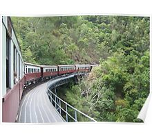Kuranda Railway Bridge Poster