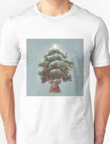 Reindeer tree  T-Shirt