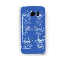 Rough Sketches of Stitch Collection Samsung Galaxy Case/Skin