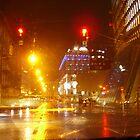 VIENNA CITY LIGHTS Nr.825 - UNIQA-Building  by Wolfgang Pawlik