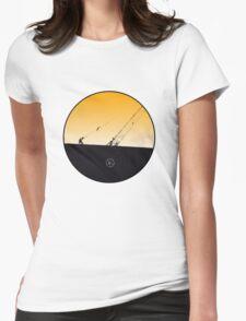 threadneedle community 04 : crane Womens Fitted T-Shirt