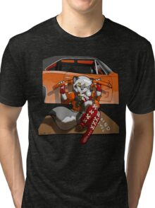 Wolf Girl Tri-blend T-Shirt