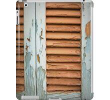 timber texture window iPad Case/Skin