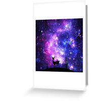 Promise you'll remember me everytime you look up and see a star Greeting Card