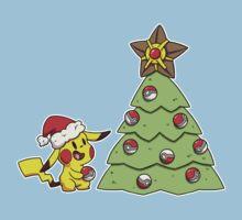 Holiday Pikachu Kids Tee