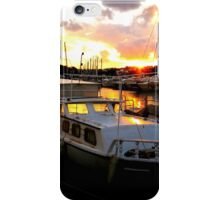 landscape sea and boats iPhone Case/Skin