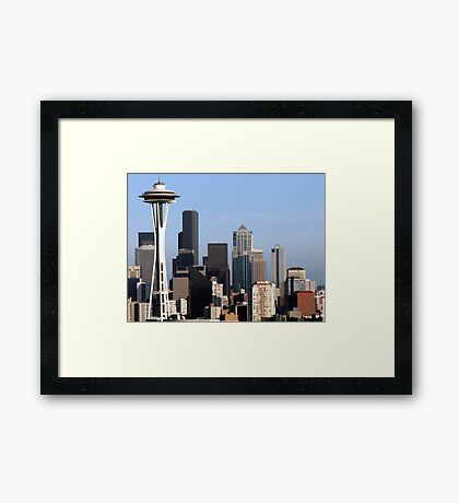 Queen Anne's Seattle Framed Print