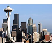 Queen Anne's Seattle Photographic Print