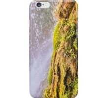 Under waterfall in the mountain iPhone Case/Skin