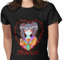 Tsundere Womens Fitted T-Shirt